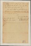 Letter to Gov. [Robert Hunter] Morris [Philadelphia]