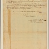 Letter to [Gov. James De Lancey, New York.]