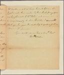 Letter to [Robert Hunter] Morris [Philadelphia]