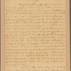 Letter to Gov. [Horatio] Sharpe [Annapolis]