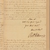 Letter to Gov. [Horatio] Sharpe [Annapolis]