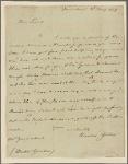 Letter to Dr. [William] Gordon [Roxbury, Mass.]