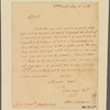 Letter to Horatio Sharp [Annapolis, Md.]