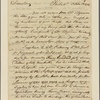 Letter to Horatio Gates, Baltimore