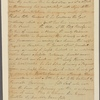 Letter to William Fleming, Richmond