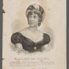 Madame de Stael, daughter of the celebrated French financier, M. Necker, was born at Paris MDCCLXVI and died MDCCCXVII. She was one of the most distinguished female writers that has lived