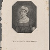 Frau v. Staël Holstein. Zwickau bei Geb. Schuman, 1817