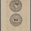[Medallion, top with words:] Stanislavs Avgvstvs D.G. Rex Poloniae Md. Lith. [Medallion, bottom, with words:] Hanc ivssit fortvna mereri el vn voce VII Sept. Coron XXV Nov. MDCCLXIC