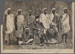 The arrival of Stanley and the leaders of his expedition at Cabenda, west coast of Africa