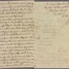 Letter to Elias Boudinot, Elizabethtown