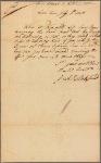 Letter to Richard Peters, Philadelphia