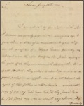 Letter to Thomas Rodney, Natchez