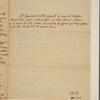 Letter to Robert Hunter Morris [Philadelphia]