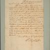 Letter to [John Parke Custis.]
