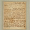 Letter to George Mason, Gunston Hall [Va.]