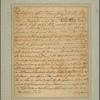 Letter to George Mason, Gunston Hall [Va.]