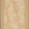 Letter to Maj. Talmage [Benjamin Tallmadge]