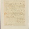 Letter to Col. [Theodorick] Bland