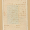 Letter to Gen. [William] Livingston, Elizabeth Town