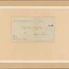 Letter to Gen. [William] Livingston, Elizabeth Town
