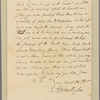 Letter to Jeremiah Wadsworth, New Haven, Conn.