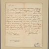 Letter to [Gerard Bancker, New York.]