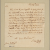 Letter to James Mott, Trenton [N. J.]