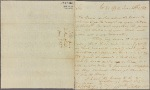 Letter to [Joseph Reed?]