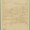 Letter to Gov. [John Taylor] Gilman [New Hampshire]