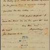 Letter to Gov. [James] Bowdoin [Boston]