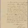 Letter to John Laurens, Paris