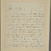 Letter to [Horatio Gates, New York.]