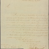 Letter to Cyrus Griffin [New York]