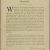 By the United States in Congress assembled, Sept. 13. 1788 [Resolution on appointment and assembling of electors for president]