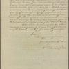 Letter to Joseph Jones, Richmond