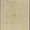Letter to E[lias] H[asket] Derby, [Salem, Mass.]
