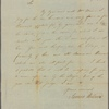 Letter to Samuel Wallis