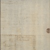 Letter to Matthew Irwin, Morris Town [N. J.]