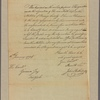 Letter to Gen. John Hathorn