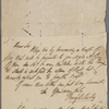 Autograph letter signed to Charles Ollier, 16 August 1818