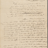 Autograph letter signed to Augusta White, 18-20 August 1818
