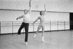 Jerome Robbins rehearsing Other Dances with Mikhail Baryshnikov