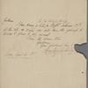Autograph letter signed to Brooks, Son & Dixon, 4 April 1819
