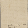 Autograph letter signed to Teresa Guiccioli, 15 May 1819