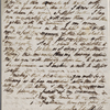 Autograph letter signed to Brooks, Son & Dixon, 30 October 1819