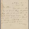 Autograph letter signed to Francis Hodgson 4 November 1811
