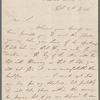 Autograph letter signed to Thomas Claughton, 4 September 1814