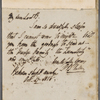 Autograph letter signed to Lord Byron, 17 October 1818