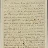 Letter to [Leroy & Barnard.]