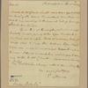 Letter to Jasper Yeates, Lancaster [Pa.]